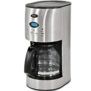 Oster Drip Coffee Maker : Amazon.com: Oster RDXSS43 12-Cup Programmable Coffeemaker, Stainless Steel: Drip Coffeemakers ...