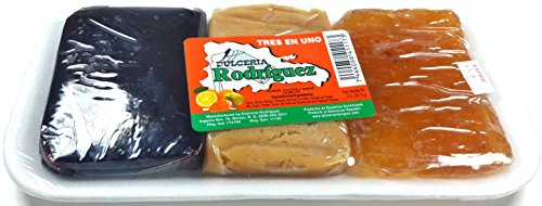 Amazon.com : Dominican Sweet 3 in 1 Guava, Milk Fudge and Orange Dessert 30 Pack : Grocery & Gourmet Food