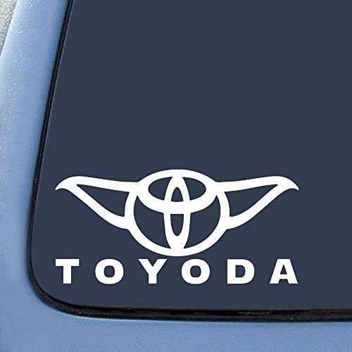 Toyoda Yoda Sticker Decal Notebook Car Laptop 8