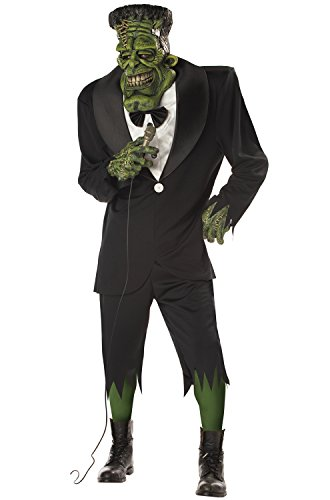 Big Frank Adult Mens Frankenstein Halloween Costume (Male Halloween Costumes Party City)