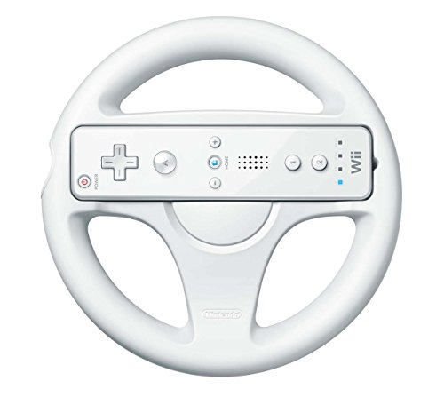 - Official Nintendo Wii Wheel Wii Remote Controller not included