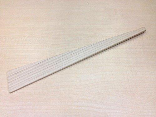Hiba wooden spatula (ginkgo type) vertical 310 ~ horizontal 45 ~ thickness 25 ~ 30 (mm)
