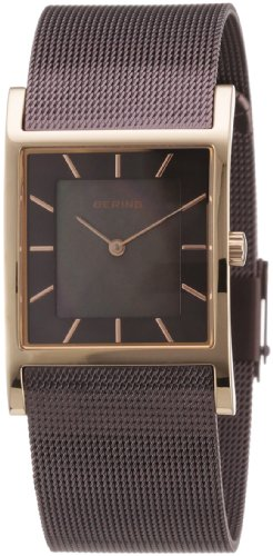 BERING Time 10426-265 Womens Classic Collection Watch with Mesh Band and super hardened mineral glass. Designed in Denmark.