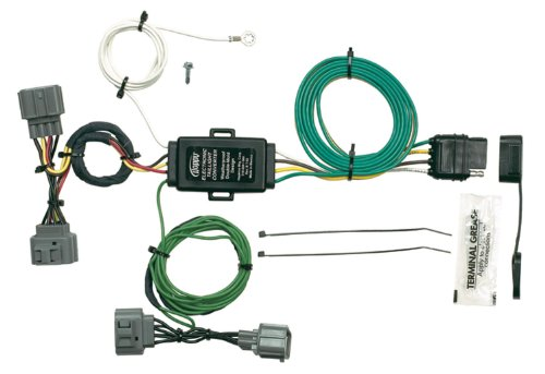 Wiring Hopkins Trailer (Hopkins 43125 Plug-In Simple Vehicle Wiring Kit)