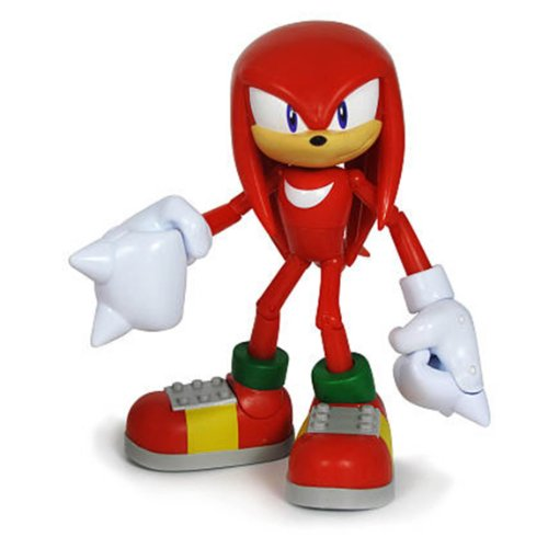 Sonic the Hedgehog 3.5 Inch Action Figure Knuckles the (Knuckles Sonic The Hedgehog)