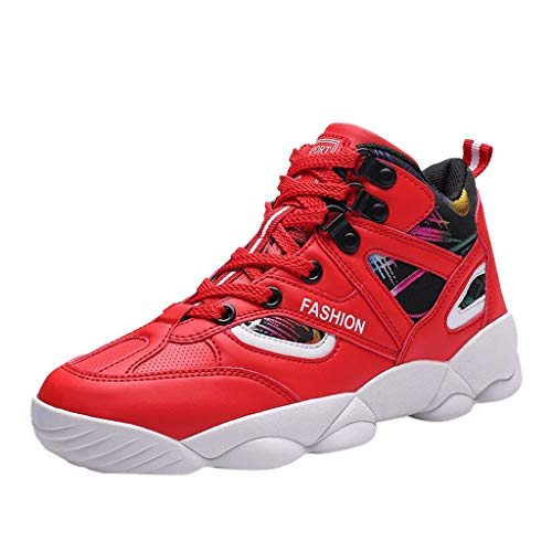 JJLIKER High Upper Basketball Shoes Sneakers Men Breathable Sports Shoes Anti Slip Running Lightweight Fashion Shoes