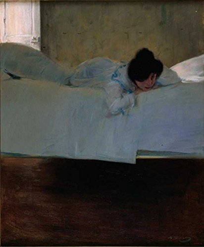 Amazon.com: The Museum Outlet - Ramon Casas - Laziness ...