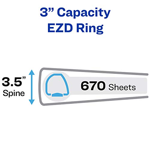 Avery Durable View Binders with EZD Rings by Avery (Image #3)