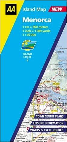 Menorca AA Island Maps AA Essential Guide Amazoncouk AA
