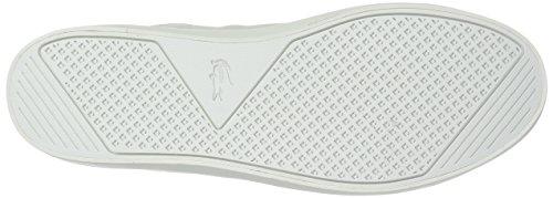 Lacoste Natural Leather Straightset White Sneaker Men's Off f0Tzfx
