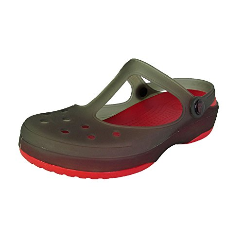 crocs Rouge 11209 Womens Carlie Noir Mary Chaussures Jane femme awarBq