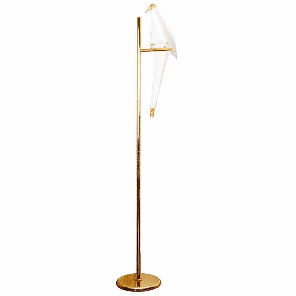 YDY Lámpara de pie de Hierro Forjado, Modelado de Aves ...