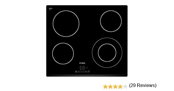 Bosch PKF631B17E Serie I 4 - Placa de cocina vitrocerámica de 60 ...