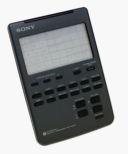 Sony RM-AV2000 Learning Remotes (Discontinued by - Sony Touch Screen Tv