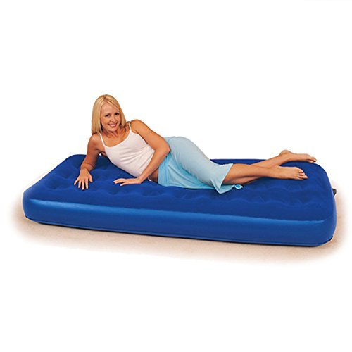 Bestway Air Bed Mattress Inflatable Single Raised Flocked Size 73
