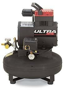 Thomas Compressors T-30-Horsepower 12 Amp 1-1/4-Horsepower 4-1/2-Gallon Oil-Free Pancake Tank Compressor