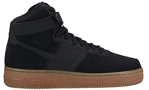Nike Wmns Air Force 1 Hi Se Donna 860544-004 Nero / Gomma Marrone Medio
