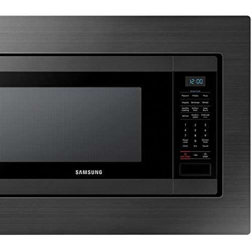 Samsung MS19M8020TG 1.9 Cu. Ft. Black Stainless Countertop Microwave for Built-In Application MS19M8020TG/AA by Samsung (Image #6)