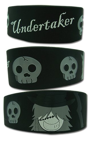 Black Butler Undertaker Wristband by Black Butler GE Animation