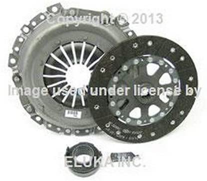 Clutch Kit With Solid Flywheel works with Mini Cooper S Checkmate Chilli Hot Chili 2002-2006 1.6L L4 Gas Sohc Supercharged 6 Speed Only