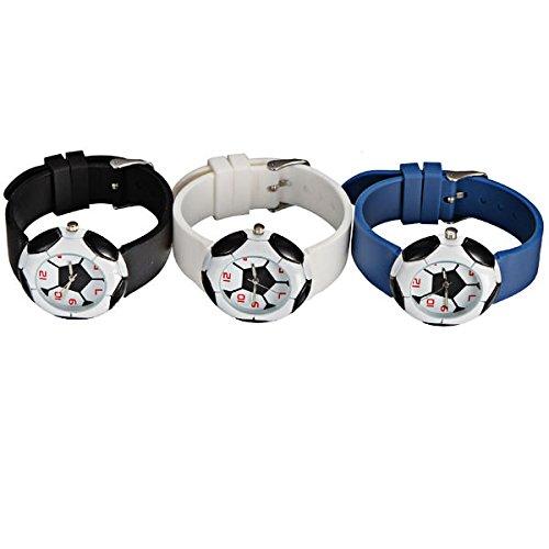 DISOK - Lote de 10 Relojes Balón Fútbol - Reloj Fútbol para ...