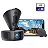 Dash Cam, VAVA 4K 3840X2140@30Fps Wi-Fi Car Dash Camera with Sony Night Vision Sensor, Dashboard Camera Recorder with Parking Mode, G-Sensor, Loop Recording, Support 256GB Max