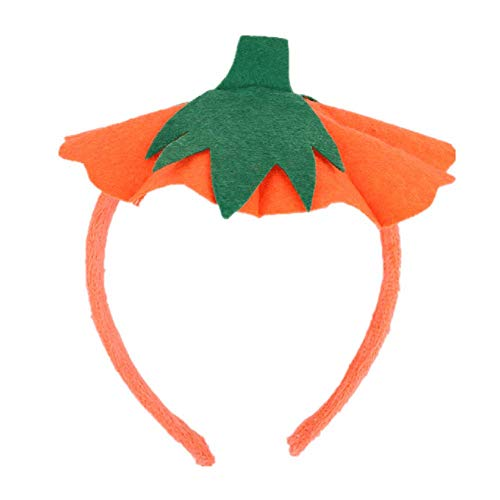 Halloween Headband Pumpkin Hat Hair Bands Hair Hoop