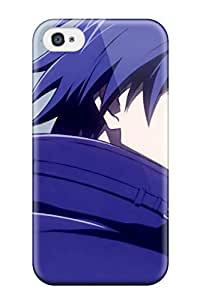 Hot 2032774K61088493 Snap-on Case Designed For Iphone 4/4s- Hei Darker Than Black