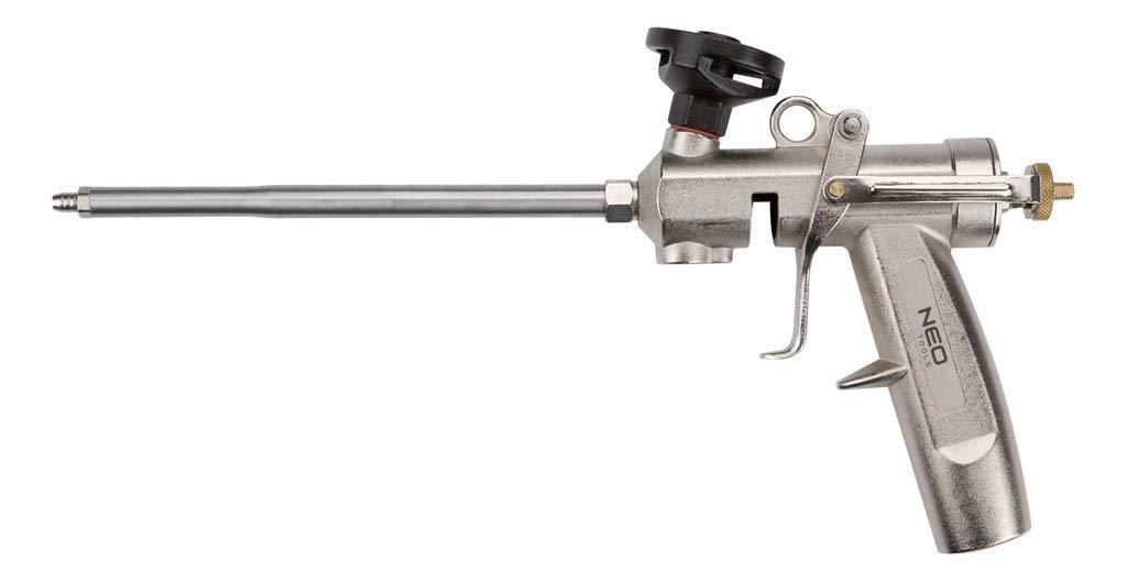Neo Tools 61-011 Pistola surtidora de Espuma con Boquilla de lató n Grupo Topex
