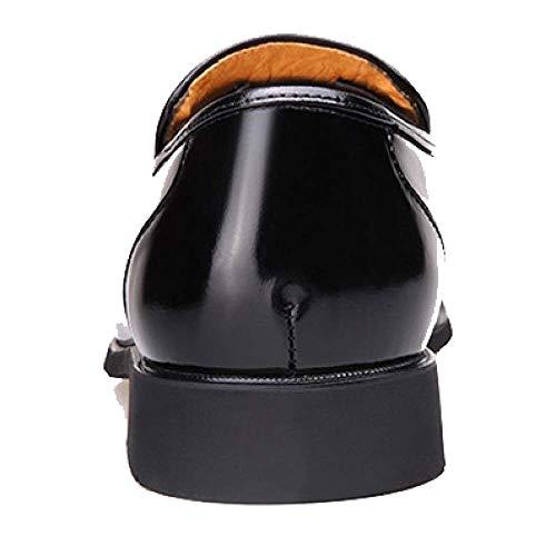 3cmblack Scarpe Fashion E Pigre da in Calde Scarpe da Pelle Sposa Uomo Comode Scarpe Business H6wHqTp1x