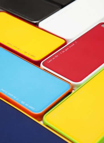 Araree AMY.COLORS CASE designed for iPhone 5 Snow WH/WH+BL, Material Polycarbonate, Anti-Shock, Changeable color, Screen Protector, NEU