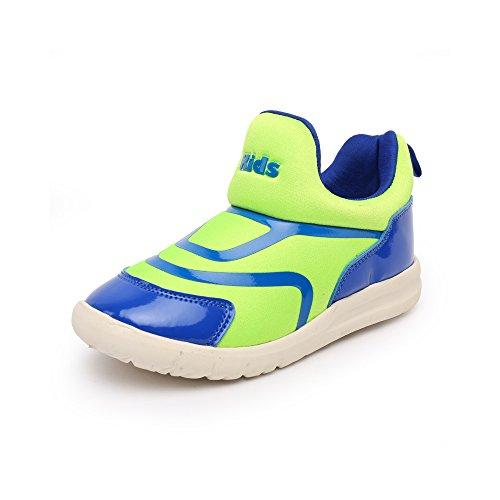 VILOCY Babyschuhe Mädchen Jungen Lauflernschuhe Sneaker Trainer Schuhe Grün EU30