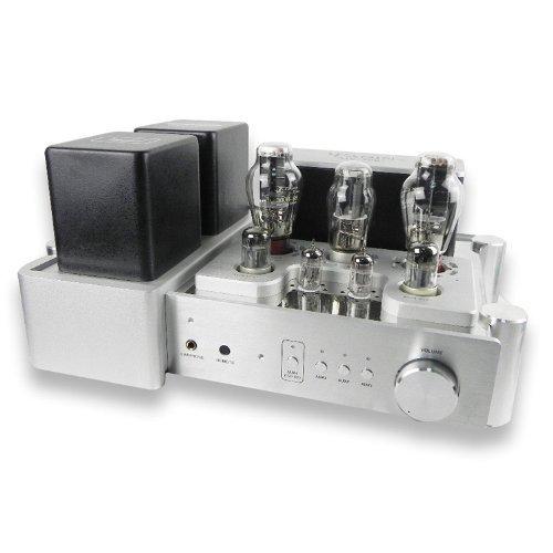 YAQIN(ヤーキン) YAQIN(ヤキン)MS-300C 300B X2真空管プリメインアンプ銀 B00M2NUSDW