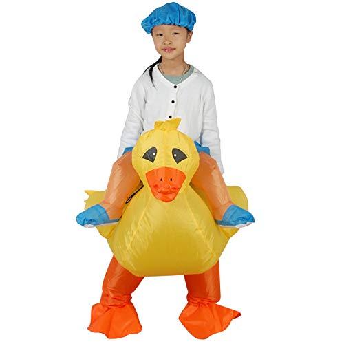 Blow Up Blimp Costumes - RNGNBKLS Little Duck Inflatable Adult Kids