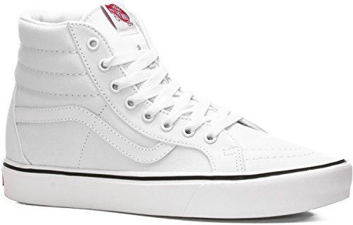 Vans Sk8-hi Lite Plus - Zapatillas altas Unisex adulto Blanco (canvas/true White)