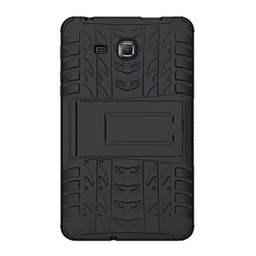 Samsung Galaxy Tab A6 7.0 2016 T280 T285 Case, BAUBEY Hybrid Rugged Armor Tough Shock Proof Hard
