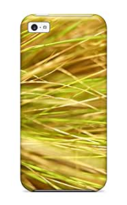 Stacey E. Parks's Shop New Style New Shockproof Protection Case Cover For Iphone 5c/ Grass Case Cover 3839867K20140705