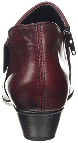 Remonte DorndorfD7389 - Botas de tacón cerrados para mujer Rojo (Chianti / 35)