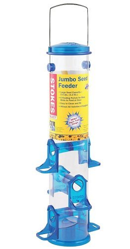 Stokes Select Jumbo Seed Tube Bird Feeder, Assorted