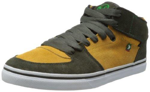DVS APPAREL Torey - Zapatos de cuero para hombre Gris