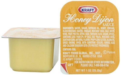 Honey Dijon Mustard - Kraft Honey Dijon (1 oz Packets, Pack of 100)