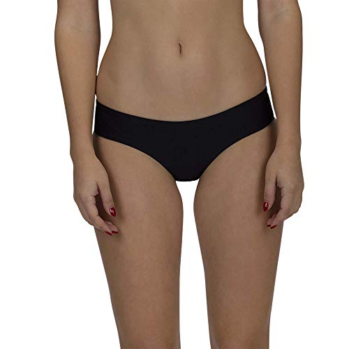 Hurley Women's Apparel Women's Quick Dry Hipster Surf Bottom, Black, M