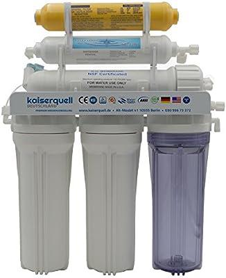 kaiserquell de filtrado de Agua Premium ósmosis inversa Equipo 7 ...