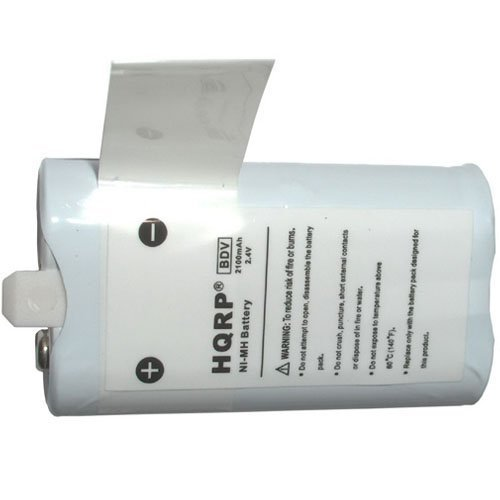 HQRP Rechargeable NiMH Battery for Flip Video ABT1W U11204 U1120B U1120P U1120W U1120Y F160 F230, F260, F460, U1120, U11204, U2120 Series, Ultra, Ultra HD, Ultra 2nd Generation Replacement + Coaster (Flip F230)