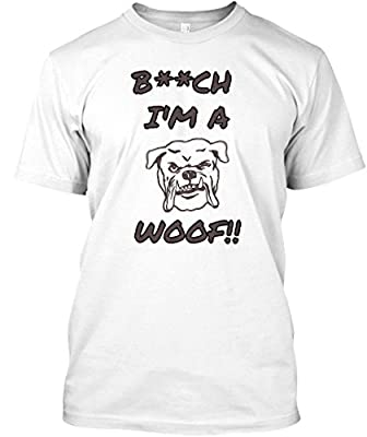 Teespring Unisex Im A Dog Woof Premium T-Shirt