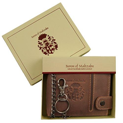 wallet of MALTZAHN of Chain eco brown BARON wallet leather Biker WARHOL wHt6fq