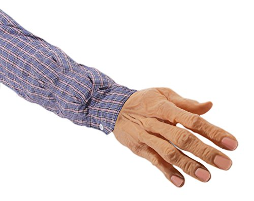 Loftus International Loftus Ghastly Severed Arm with Sleeve Decoration Prop, Beige Novelty Item -
