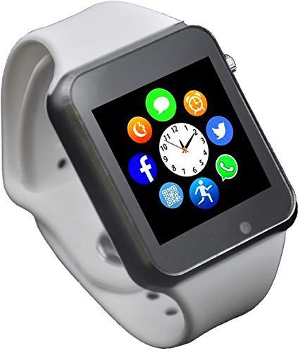 (Funntech Smart Watch with Unlocked 2G GSM Phone Call Bluetooth Activity Tracker Fitness Tracker Pedometer Sleep Monitor A1)