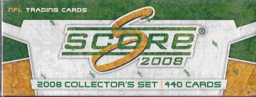 2008 Score Football Factory Sealed Set Loaded With Rookies and Stars , Including , Matt Ryan, Joe Flacco , Peyton Manning and many more!