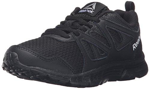 Reebok Kids' Run Supreme 2.0-K Track Shoe, Black, 3.5 M US Big Kid - Kid Wanted Boy Shoe
